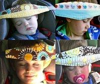 baby playpen - Infant Baby Head Support Pram Stroller Safety Seat Fastening Belt Adjustable Playpens Sleep Positioner Adjustable Size