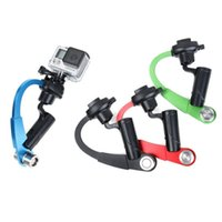 Wholesale Red Mini Gopro Stabilizer Steadycam portable Go pro XIAOMI YI camera Steadicam stick gopro accessories for sj4000