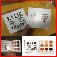 makeup - In stock Kylie jenner eyeshadow kit Kyshadow brand makeup matte Cosmetics Palette Bronze Preorder eye shadow color