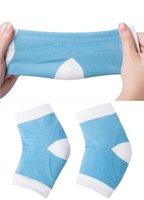 Wholesale Foot Cares Gel Heel Socks Moisturing Spa Gel Socks feet care Cracked Foot Dry Hard Skin Protector