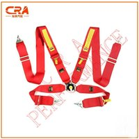acura race car - CRA Performance S belt FIA Red Racing Red Sabelt quot inch point Cam Lock Racing Harness Car Racing Seat Belts Racing Safety Belts