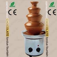 Wholesale For wedding birthday party christmas party chocolate melting waterfall fountains4 tiers chocolate fountain