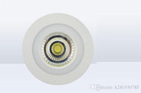Wholesale SMD3528 COB Panel lights blue white Colors Down light LED lamp Round Recessed Ceiling Panels AC85 V W W W W