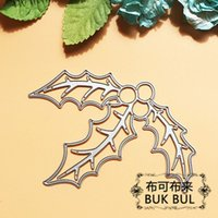 berry paper - Christmas Holly berries Metal Cutting Dies Stencils for DIY Scrapbooking photo album Decorative Embossing DIY Paper Cards
