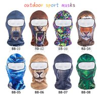 Wholesale Gentle s masks hiking camping Fleece Bicycle Cycling Motorcycle Half Face Mask Sports Wind Stopper Cap Headwear d Masks washcloth skull
