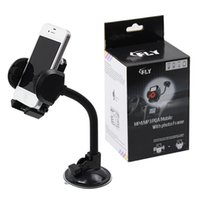 adjustable holder - hot sale New rotating sucker adjustable abs mobile cell phone gps fly universal car holder