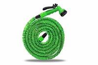 Wholesale Expandable Garden Magic hose FT FT FT FT FT FT Pipe Magic Hose Stretch Hosepipe with Function Multifunctional Spray Gun