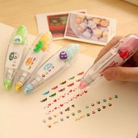 Wholesale 2pcs korean cute correction tape kawaii stationery for student school supplies DIY Scrapbooking Stickers