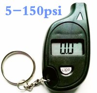 Wholesale by dhl fedex Digital Car Tire Pressure Gauge Meter Auto Vehicle Motorcycle LCD Display Detector PSI BAR