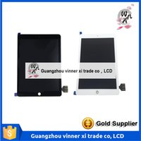apple flat screen - Original inch ipad pro Lcd Liquid Crystal Display Touch Screen Digitizer Tablets Flat Panel Assembling White Black Color