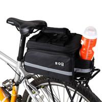 bicycle seat rain cover - Waterproof Cycling Mountain Road MTB Bicycle Bike Rear Seat Trunk Bag Handbag Pannier Rain Cover Outdoor Traveling Black