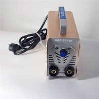 Wholesale MMA stick current knob MINI ARC200 stick MMA welder IGBT DC Inverter with bag high quality welding machine