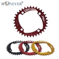 Wholesale MTB Bike Single Chain Ring T T Bicycle Chainring BCD mm Ultralight Crankset Oval Chainwheel