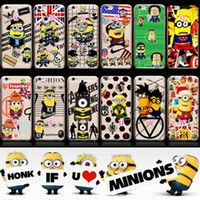 apple flags - For iphone S Plus SE S Galaxy Note7 S7 Edge S6 Despicable Me Minions Soft TPU Case Cartoon Cute Batman Superman UK USA Flag Cover