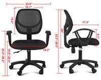 Wholesale Computer Office Desk Task Chair Black