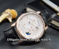 Wholesale High Quality Luxury Brand Mens Watch Moonphase Ref Moon phase Silver Dial Automatic Rose Gold Gents Watch Mens Watch