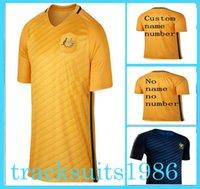 Wholesale 2016 Australia Jerseys Shirt Cahill KENNEDY KRUSE Blue Bresciano America s Cup Wholesalers Sportswear adult rugby