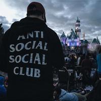 anti standard - 2016 New Designer anti social social club printed Hoodies Men Sweatshirts Slim Fit Hooded Pullover Sportswear Sweatshirt men Tracksuits