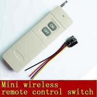 Wholesale 315MHz Wireless Remote Control Switch System Single channel Wireless V5V6V8V12V A Channel Wireless RF Remote Control Switch Transmitt