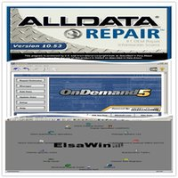 best price usb disk - 25in1 Alldata version All data V10 R and Mitchell car repair data software with TB hdd Hard Disk best price