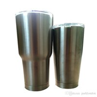 Wholesale 30oz Rambler Tumbler Bilayer Stainless Steel Insulation Cups OZ Cup Cars Beer Mug Large Capacity Mugs Tumblerful