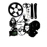 Wholesale 36V W Fun Bafang BBS02 Crank Motor Eletric Bicycles Ebike Kits With C965 LCD