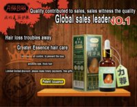 alopecia areata - 2 bottles Anti hair loss occurs germinal dense issuance seborrheic alopecia areata tonic liquid tincture fast hair growth