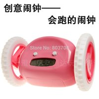 Wholesale Supply genuine world s top ten creative alarm clock will run to escape the strange new gift objects Clock