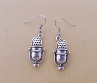 Wholesale Hot Sale Alloy Microphone Earrings E3927