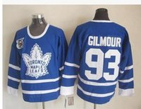 Wholesale 75 gilmour th anniversary Maple Leafs Maple leaves team Jersey