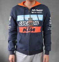 Wholesale ktm fleece motorcycle jackets racing off road jackets motorcycle clothing cycling race clothing Leisure coat have zipper