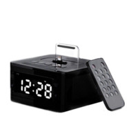 active alarm clock - Brand LCD Digital FM Radio Alarm Clock Music Dock Charger Station Bluetooth Stereo Speaker for iPhone s for Iphone6 s