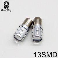 Wholesale 13SMD LED T20 T25 H4 H7 H8 H11 HB3 HB4 Fog lights brake light Reversing light Turn signals