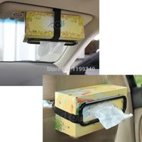 Wholesale hot selling x Tissue Paper Box Holder Auto Accessories Paper Napkin Seat Back Bracket