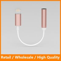 aux earphone - iPhone Plus Earphone Headphone Cable Adapter iPhone IOS Interface to mm Female Jack Aux Audio Cable