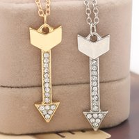 american cupid - 2016 father s day Eros Cupid Arrow Charms Pendant Valentine Women Men couple Necklace Best Gift Valentine s Day ZJ