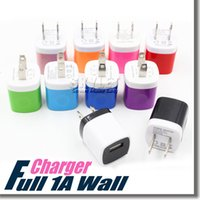apple adapter usa - For Iphone S wall charger Travel Adapter Full V A Colorful Home Plug USB Charger For Samsung S6 S6 EDGE Note USA Version EU Version DHL