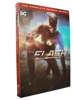 Wholesale The Flash slim version Second Season nd Two Disc Set Boxset US Version New