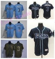 bay retail - And Retail Evan Longoria Jersey Flexbase Tampa Bay Rays Baseball Jerseys Cool Base Home Away Navy Blue Camo Stitched Quality