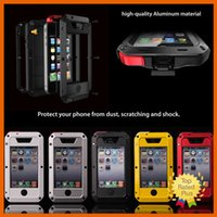 battery protection iphone - Gorilla Dirt Shock Waterproof Shockproof Aluminum Metal Protection Cover Case for iPhone SE s se s c s Plus