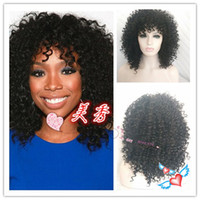 best vogue - 2016 Best Seller Vogue Wig New style Best selling Women wig cosplay wig lady medium long Synthetic Hair High temperature Female Curly Wigs