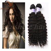 best buy discount - Best Discount Buy Get Brrazilian Deep Wave Human Hiar Bundels Indian Peruvian Human Hair Extensions Hair Weave Deep Wave Hair Weft