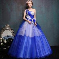 art show themes - Art Clothing Wedding Dress Color Yarn Show Tutu Theme Wedding Costumes Long Female Solo Stage B