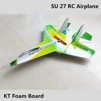 best electric rc plane - 1 Piece su rc airplane kt foam rc plane green avion rc glider electric remote control airplanes kits best kids toys