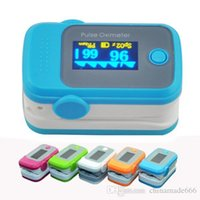 Wholesale PO GR NEW Fingertip OLED Display Pulse Oximeter with Audio Alarm Pulse Sound ROSE Spo2 Monitor