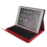 apple wireless keyboard keys - IP056 Bluetooth Wireless Keyboard Leather Case Cover for Ipad Air inch Stand Holder Cases Key Board