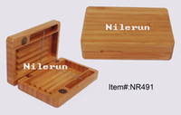 Wholesale High quality business gift box natural bamboo cigarette case box