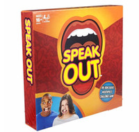 best toy box - 2016 NEW Speak Out Game KTV Party Game Cards For Party Christmas Gifts Newest Best Selling Toy With Retail Box