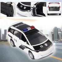 best diecast - High Quality Police Car Alloy Diecast Sound Light Baby Toy Cars Diecast Car Model Best Christmas Gifts