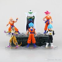action figures display - NEW set cm dragon ball Figures Display Z Resurrection F Super Goku Kakarotto Frieza Vegeta action figure toys generation